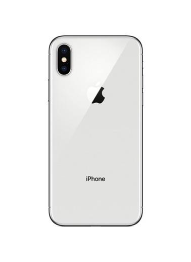 Apple iPhone X 64 GB Gümüş Cep Telefonu (Apple Türkiye Garantili) Gümüş